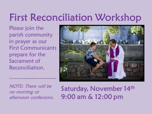 Reconciliation Workshop slide